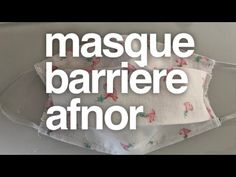 TUTO : FAIRE UN MASQUE DE PROTECTION ( version lavable en tissu ) - YouTube Coin Couture, Youtube, Diy, Crowns, Sewing Tips, Masks, Bricolage, Handyman Projects, Do It Yourself
