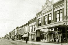 Laramie Historic Photos II | West side Second Street looking south, 1907.