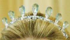HM Queen Juliana of the Netherlands' Aquamarine Tiara and Parure