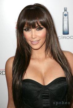 Kim Kardashian at a Comcast Party.