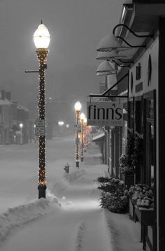 If winter would really look like this and not just in my dreams, I wouldn't get depressed every winter