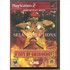 State of Emergency PlayStation 2 Video Game Disc PS2 NTSC Used 710425270604 on eBid Canada