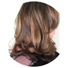 Lived in color. Balayaged highlights to blend all the different colors she had in her hair from coloring it herself at home.