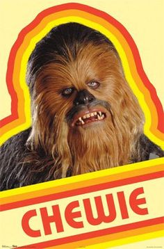 Great  Star Wars Chewie  t-shirt fabric IRON ON transfer via Etsy