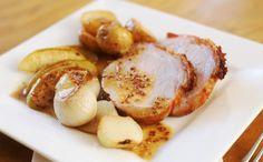 Solomillo de cerdo en salsa de mostaza y cava - Recetín