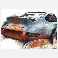 #Porsche #Gulf #911 #RSR
