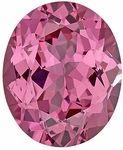 This Genuine Spinel Gemstone Displays A Medium  Orangey Pink Color. Excellent Cut, Clarity