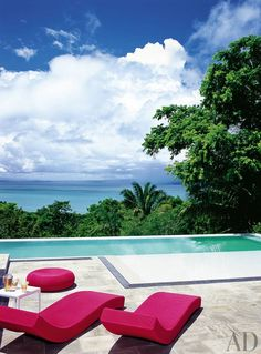 Exotic Pool by SPG Architects and SPG Architects in Costa Rica