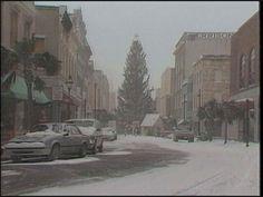 Charleston 1989 the Christmas after hurricane Hugo. Snow!