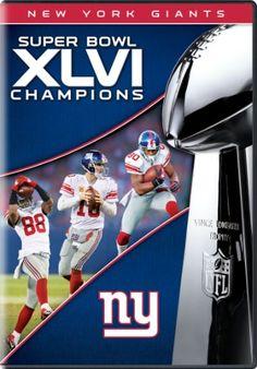 NFL Super Bowl XLVI Champions  2011 New York Giants Giants Football a72e3d007