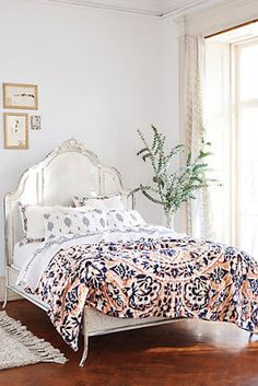 Anthropologie bohemian bedding