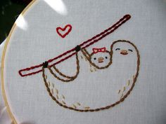 Sloth Mama's Day (pattern here: http://wildolive.blogspot.com/2012/05/pattern-mamas-and-babies.html)