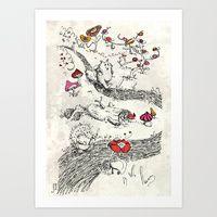 Art Prints by Lorène R. Illustration | Page 2 of 2 | Society6