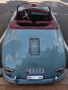 Porsche 356 A Convertible Old Vintage Cars, Vintage Sports Cars, Retro Cars, Antique Cars, Bmw Z3, Porsche 356 Speedster, Porsche 912, Pt Cruiser, Vintage Porsche