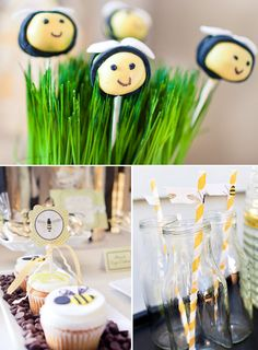 adorable bumble bee baby shower ideas