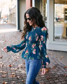 You will blossom in our Melara Floral Smocked Blouse. Click to shop our website or follow us at @VICIDOLLS for all the latest updates + fashion inspo!