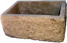 stone farmhouse sink