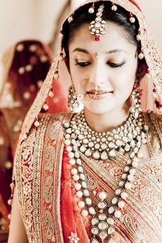 Indian bride jewelry