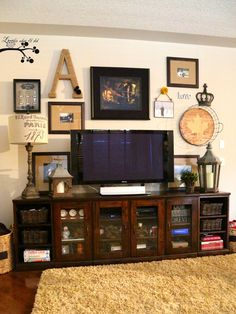 Tips For Decorating Around The TV TVs Trim Work And Decorating - Decorating the living room around the tv