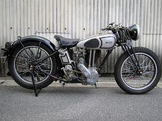 Vintage Norton Motorcycles: 1936 Model 18 Norton