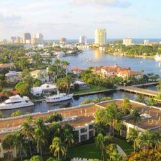 Inter coastal waterways of Ft. Lauderdale