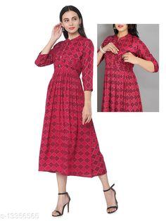 Kurtis & Kurtas Alisha Alluring Maternit Kurtis Fabric: Rayon Sleeve Length: Three-Quarter Sleeves Pattern: Colorblocked Combo of: Single Sizes: S (Bust Size: 18 in, Size Length: 48 in)  XL (Bust Size: 21 in, Size Length: 48 in)  L (Bust Size: 20 in, Size Length: 48 in)  M (Bust Size: 19 in, Size Length: 48 in)  XXXL (Bust Size: 23 in, Size Length: 48 in)  XXL (Bust Size: 22 in, Size Length: 48 in)  Country of Origin: India Sizes Available: S, M, L, XL, XXL, XXXL   Catalog Rating: ★4.2 (1687)  Catalog Name: Abhisarika Alluring Maternity Kurtis and Feeding Kurtis with 2 sided zip CatalogID_2618112 C74-SC1001 Code: 506-13356565-4161