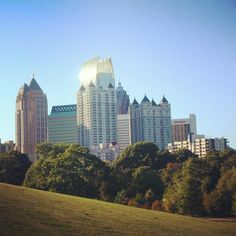 #WeLoveATL because Piedmont Park is the perfect relaxation spot.