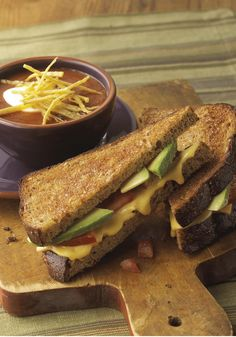 Grilled Cheese & Avocado Sandwich