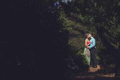 We found a pocket of sunshine and Amy and Josh did the rest... #NashvilleWeddingPhotographer #Engagement #UniqueEngagementPhoto #BeautifulEngagementPhoto #romanticEngagementPhoto