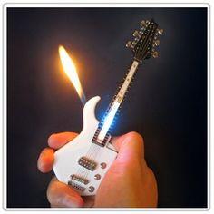 1x Mini White Guitar LED Light Refillable Cigar Cigarette Lighter 7inch by AmebaConcept, http://www.amazon.com/dp/B005BX265S/ref=cm_sw_r_pi_dp_G3.Crb0DQ4EQZ