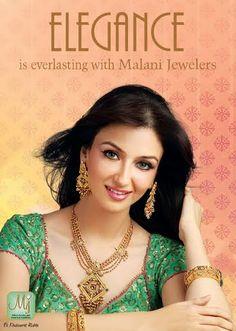 A woman wearing beautiful jewelry stays graceful forever. #MalaniJewelers #Jewelry