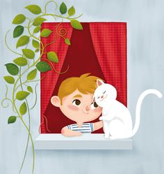 Me & Max by Katia De Conti, via Behance