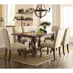 Dining Table With Upholstered Chairs Sams Club