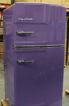 Violet Loft U2022~u2022 Big Chill Vintage Inspired Refrigerator · Purple KitchenBig  ChillKitchen AppliancesKitchen ...