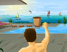 """Check out new work on my @Behance portfolio: """"Club Med - Game app"""" http://be.net/gallery/61663973/Club-Med-Game-app"""