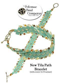 'Tila Path' bracelet from Potomac Bead Company. #Seed #Bead #Tutorials