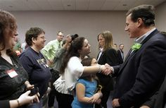 54 #prezpix #prezpixrs election 2012 candidate: Rick Santorum publication: abc news photographer: AP Photo publication date: 3/17/12