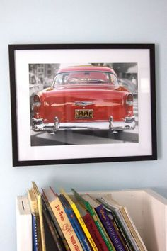 Old Car Photos Prints to decorate Boys Room