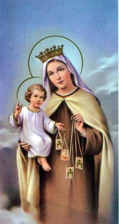 Our Lady of Mount Carmel pray for us.