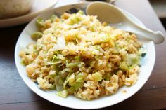 Lettuce fried rice China-style