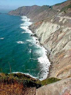 Devils Slide, Highway 1, California by surfcrs