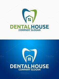 Dental House Logo. Logo Templates. $29.00