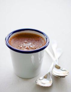 Chocolate Pots De Creme with Himalayan Pink Salt