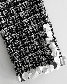 09P-ChanelBWPailetteJckt1 -- Exquisite Detail!