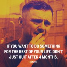 """If u want It badly enough ... You need to deploy #patience and #hustle ... I'm stunned by the huge amount of emails I get where people are """"down"""" after a few months ... If you want something to be your LIfe it shouldn't come easy and fast!"""