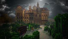 Herobrine's Mansion Map para Minecraft 1.4.2