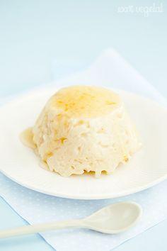 100 % Végétal: Riz au lait à la cardamome et son sirop à la fleur d'oranger