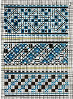 Una colección de patrones: jacquard .. Debate sobre LiveInternet - Servicio ruso Diarios Online