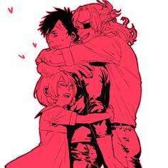 (Gangsta: Nina, Nicolas, Worick) Cute! :3