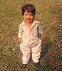 A young Luis Suarez
